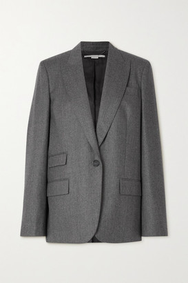 Stella McCartney Bell Wool Blazer - Gray