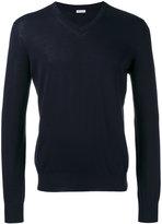 Malo v-neck jumper - men - Cotton - 50