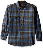 Pendleton Men's Long Sleeve Button Front Classic-Fit Guide Shirt