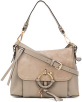 See by Chloe Joan cross body satchel - women - Cotton/Calf Leather - One Size