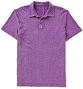 John Varvatos Reverse Print Short-Sleeve Peace Polo Shirt
