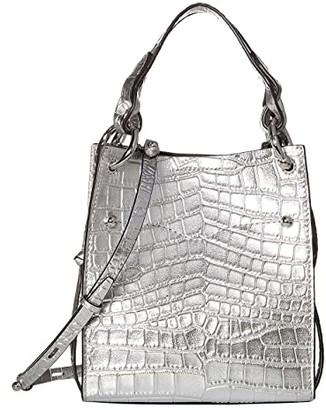 Rebecca Minkoff Kate Mini North/South Tote (Black) Handbags
