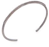 Mercer Silver & 0.80 Total Ct. Champagne Diamond Cuff Bracelet