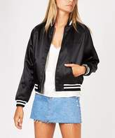 Insight Drop Kick Varsity Jacket Black