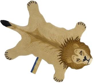 Doing Goods Wool Moody Lion Rug