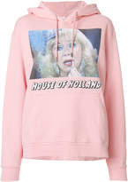 House of Holland logo print hoodie