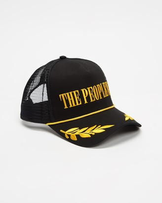 The People Vs. Black Caps - Embroidered Trucker Cap - Size One Size at The Iconic