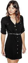 GUESS Women's Kimia Shirtdress