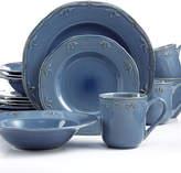 Sicily Thomson Pottery Blue 16-Pc. Set, Service for 4