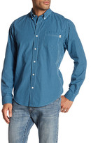Timberland Checked Long Sleeve Slim Fit Shirt