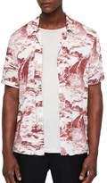 Allsaints Sunda Slim Fit Camp Shirt