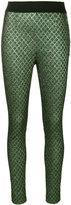 Dolce & Gabbana jacquard skinny trousers - women - Polyester - 38