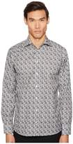 Eton Slim Fit Tiger Print Shirt