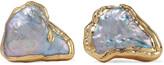 Dara Ettinger Gold-plated freshwater pearl earrings