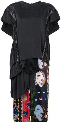 Carven mid-length T-shirt dress