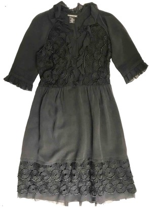 Vivienne Tam Black Silk Dress for Women