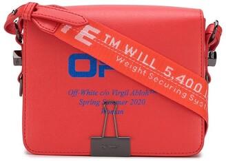 Off-White Flap fold-over shoulder bag