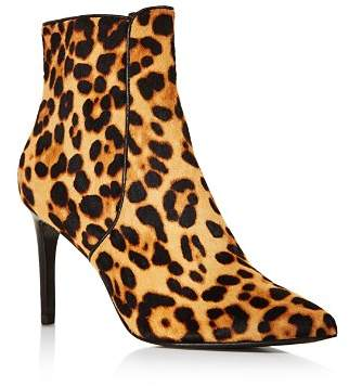 Rachel Zoe Women's Morgan Printed Calf Hair Booties