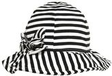 Il Gufo Striped Doubled Cotton Jersey Hat