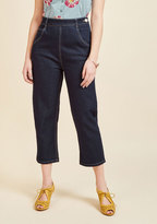 ModCloth Don't You Forget About Jeans Denim Capris in XXL