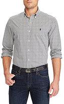Polo Ralph Lauren Big & Tall Checked Long-Sleeve Woven Shirt