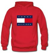 Tommy Hilfiger Printed For Boys Girls Hoodies Sweatshirts Pullover Tops