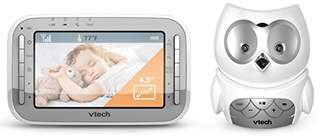Vtech Safe and Sound Owl Colour Video and Audio Baby Monitor 301303