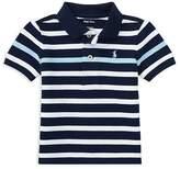 Ralph Lauren Boys' Mesh Striped Polo - Baby