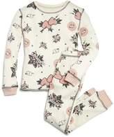 PJ Salvage Girls' Love Forever Thermal Pajama Shirt & Pants Set