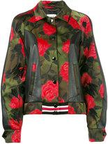 Coach Varsity jacket - women - Polyester/Viscose/Sheep Skin/Shearling - 4