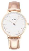 Cluse Women's La Boheme Metallic Strap Watch, 38Mm
