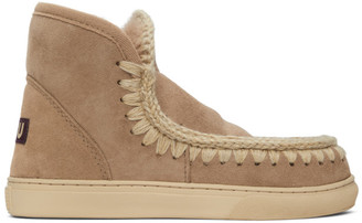 Mou Taupe Sneaker Boots