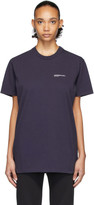 A.P.C. Navy JJJJound Edition Logo T-Shirt