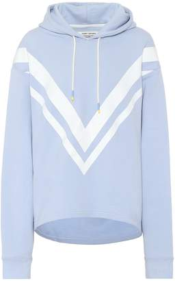 Tory Sport Cotton-jersey hoodie