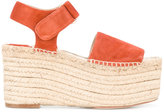 Paloma Barceló espadrille platforms - women - Leather/Suede - 36