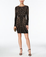Xscape Evenings Beaded Bodycon Dress