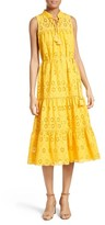 Kate Spade Women's Eyelet Embroidered Patio Dress