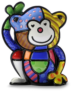 Cheeky Monkey Britto™ by Giftcraft Miniature Figurine