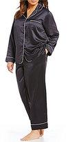 Cabernet Plus Satin Pajamas