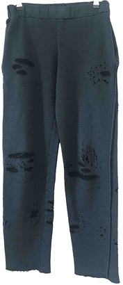 Filles a papa Navy Cotton Trousers