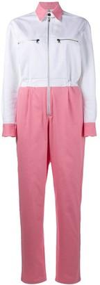 Walk Of Shame colour block jumpsuit