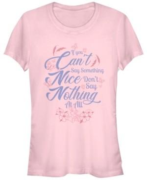 Fifth Sun Women's Bambi Can't Say Something Short Sleeve T-shirt