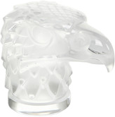 Lalique Clear Eagle Head Paperweight