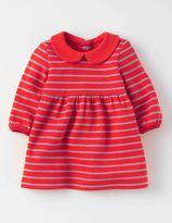 Boden Sparkly Stripe Jersey Dress