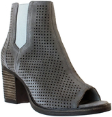 Bos. & Co. Gray Brianna Leather Ankle Boot