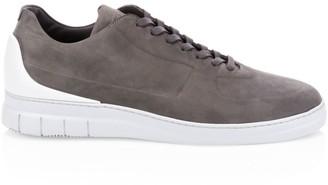 Dunhill Spoiler Nubuck Low-Top Sneakers