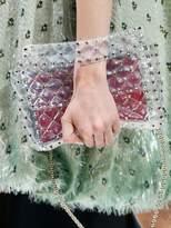 Valentino Medium Spike Pvc Shoulder Bag