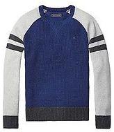 Tommy Hilfiger Big Boy's Th Kids Mixed Knit Sweater