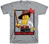 Lego Boys' Minifigure T-Shirt - Gray