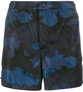 Valentino camo-print swimming trunks - men - Polyamide/Polyester - 44